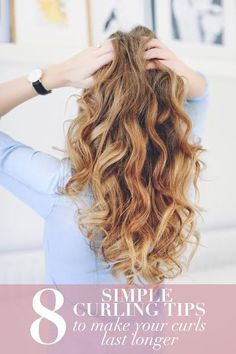 We share our favourite tips and tricks with you in order to make your beautiful curls last longer!