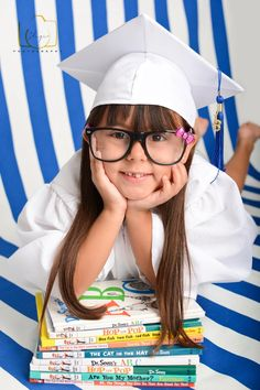 Adorable kindergarten graduation shoot