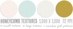 Free printable honeycomb texture patterns