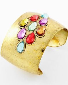{Semi-Annual Sale} Gem Cuff now only $16 FREE SHIPPING!