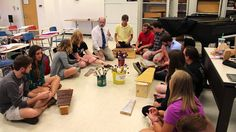 """Rob Amchin—University of Louisville—""""Copy Cat"""" Poem  with Orff Instruments - love this quick and easy prep lesson on improvisation and rhythm!"""