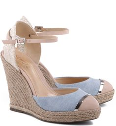 ESPADRILLE ANABELA LIGHT BLUE                                                                                                                                                                                 Mais