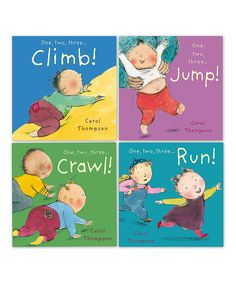 Childs Play Little Movers Four-Piece Board Book Set | zulily
