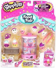 Shopkins Season 3 Food Fair Pack - Cupcake Collection