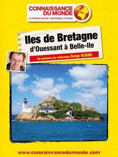 affiche CONNAISSANCE DU MONDE : ILES DE BRETAGNE, D