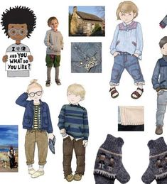 """World Remix"" Winter (Invierno) Children's Clothing Color Trends 2012 Peclers for CIFF (Copenhagen International Fashion Fair { via Nuestros Hijas }"