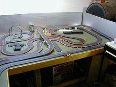 small table slot car