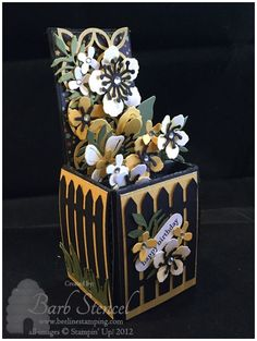 Blooms in a Box by bstencel - Cards and Paper Crafts at Splitcoaststampers