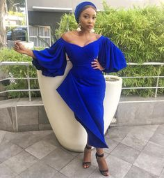 70 Stylish Wedding Guest Dresses That Are Sure To Impress - Wedding Digest Naija wedding guest outfit African Inspired Fashion, African Print Fashion, African Fashion Dresses, Nigerian Fashion, African Attire, African Dress, African Lace, Nigerian Dress, Lace Dress Styles