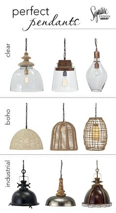 Beau Find The Perfect Pendant To Complete Your Home Lighting! From Clear Glass,  To Boho