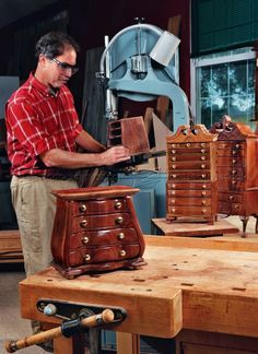 #2948 Bombe Jewelry Box Plans - Woodworking Plans
