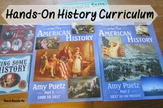 Hands-On American History Curriculum: Teach Beside Me Curriculum Review