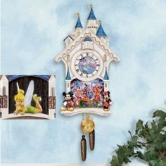 Disney Character Cuckoo Clock: Happiest Of Times by The Bradford Exchange