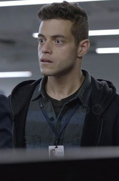 Rami Malek in Mr. Robot as Elliot Alderson ;_;
