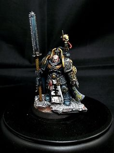 Deathwatch squad, part one, comission for work