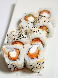 UNBELIEVABLY scrumptious Philly Rolls from Tiger Sushi. Delivered by bitesquad.com #Minneapolis