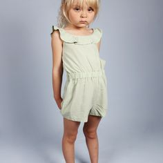 FRILL SUMMERSUIT by Mini Rodini // claradeparis.com ♥