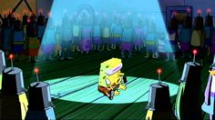 Spongebob singing Goofy Goober Rock
