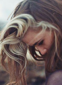 Sandy blond dirty blond