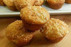 "Mini Pineapple Coconut Muffins from ""Drizzle Me Skinny"""