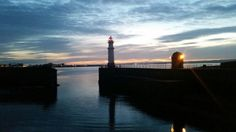 Sunset at Newhaven