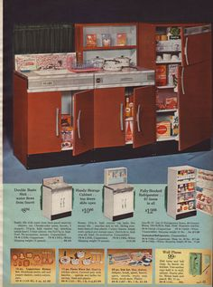 1964 Sears Wishbook - Little Kitchen