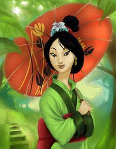 Mulan: Updated by NeverEndingMatti.deviantart.com on @deviantART