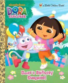 Dora's Birthday Surprise! (Dora the Explorer) - Little Golden Book