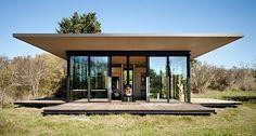 False Bay Writer's Cabin: Glashütte mit beweglicher Terrasse - KlonBlog »…