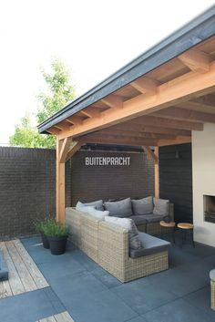 5 Garden Gazebo, Backyard Sheds, Pergola Patio, Outdoor Rooms, Outdoor Living, Outdoor Bbq Kitchen, Backyard Renovations, Outside Seating, Patio Shade