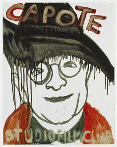 """""""CAPOTE""""  2006 [""""Capote"""" USA 2005, 114' R / D: Bennett Miller] Sammlung Ringier oil on paper 73 x 58 cm / 29 x 23"""" PETER DOIG."""