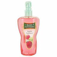 Body Fantasies Apple Fantasy by Parfums De Coeur Body Spray 8 oz for Women