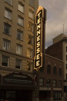 Tennessee Theatre Marquee