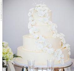 Gorgeous wedding cake