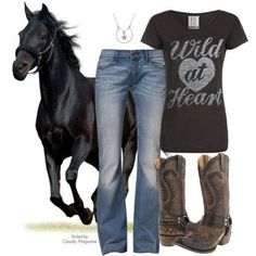:) Love it all! That horse is gorgeous!!!