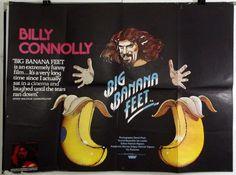 BIG BANANA FEET - BILLY CONNOLLY - ORIGINAL UK QUAD MOVIE POSTER