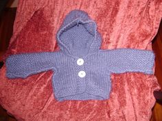 Knit infant sweater