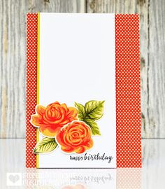 Welcome back to day three of our August teasers, I have lots more to share today...         Supplies: Stamps - Clearly Besotted 'English Ro...