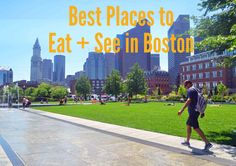 Best Places to Eat and See in Boston. A list of the most popular things to do and best restaurants to eat at while traveling to Boston.