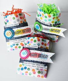 Birthday Gift Bags - Pebbles, Inc.