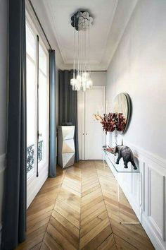 Inspiration Only.  Nice look for a plank floor