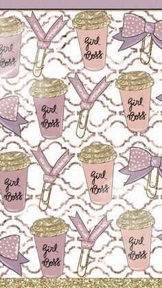 WALLPAPERS — xo-nikkix:   Found these cute walls on Pinterest.... Boss Wallpaper, Computer Wallpaper, Mobile Wallpaper, Iphone Wallpaper, Summer Wallpaper, Matching Wallpaper, Planner Supplies, Pretty Wallpapers, Scrapbook Designs
