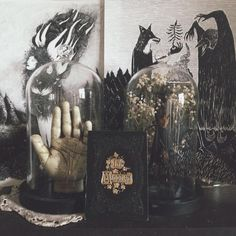 Memories Are Haunted Places : palmistry witchcraft victorian mourning cards El Canton, Magic Places, Goth Home, Witch House, Witch Cottage, Gothic Home Decor, Gothic House, Decoration Design, Oeuvre D'art
