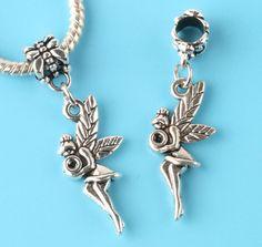 6//30//100pcs Tibetan Silver Dolphins Bulk Dangle European Charms Bracelet Craft