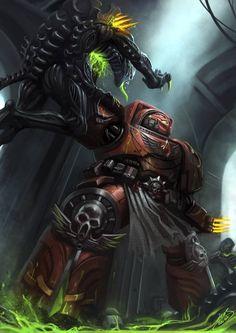 Warhammer 40k - Space Marines - Tyranids