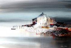 British Artist Colin KENT-Riverside