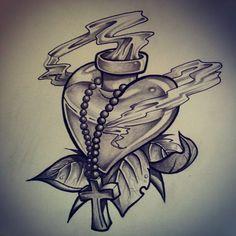 sketch tattoo new school - Google zoeken