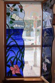 Glass shutters