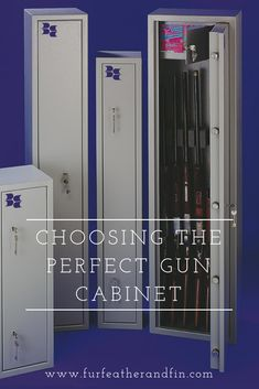 A gun cabinet is a priority when applying for a firearms license and there are several important points to keep in mind when buying one. Biometric Lock, Biometric Security, Gun Storage, Locker Storage, Shooting Clothing, Key Safe, Electronic Lock, Shooting Accessories, British Government