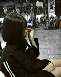 Lấy =Follow #Ẩn Ulzzang Girl, Miu Miu, Character Inspiration, Mascara, Asian Girl, Short Hair Styles, Korea, Kawaii, Hair